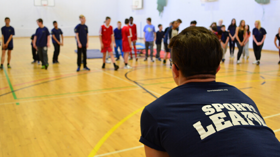 Sports Leaders launches e-training as part of the Leaders from Leavers project