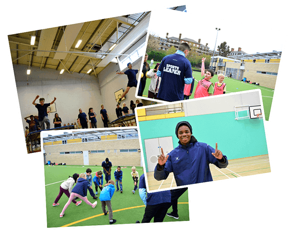 Sports Leaders in action