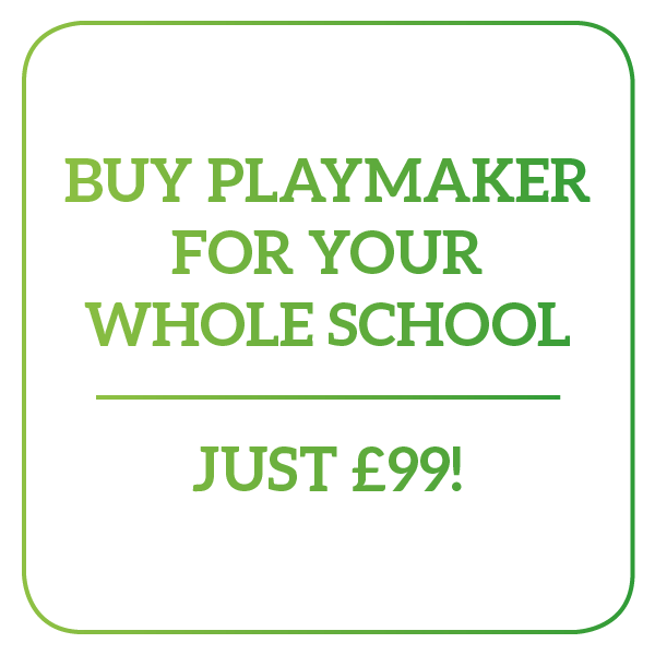 Buy PlayMaker for your Entire School